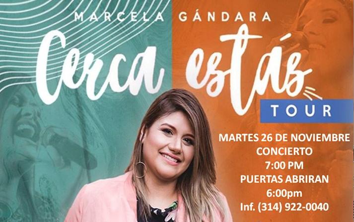 Concierto Marcela Gándara en St. Louis